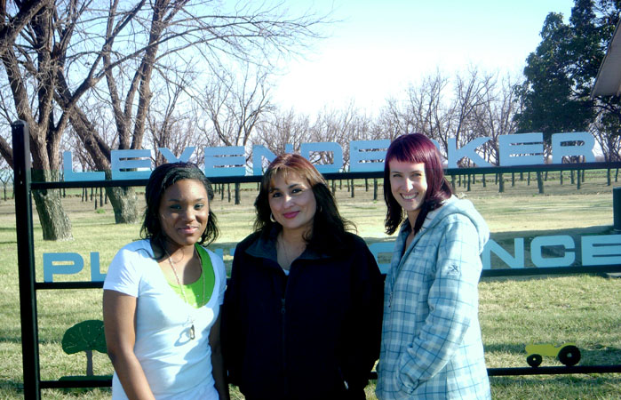 Image of ...(left to right) Jessica Chavers, Theresa Martinez, Stephanie Sweet