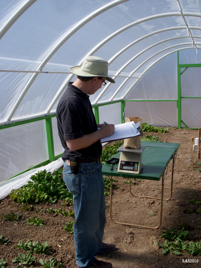 Image of ...Hoop House Project, Dr. Mark Uchanksi